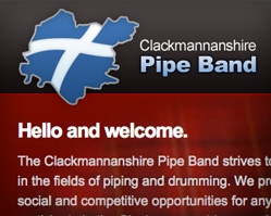 Clackmannanshire Pipe Band