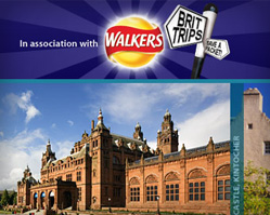 Walkers Brit Trips Campaign